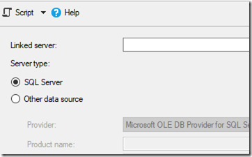 SQL: Linked Servers: Don't hard code server names - The Bit Bucket