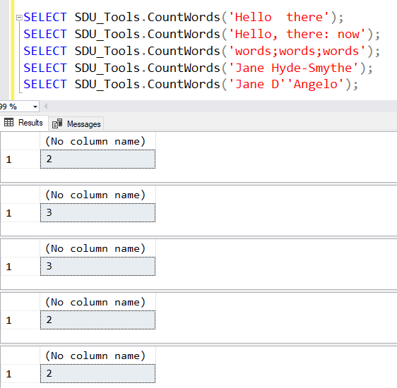SDU Tools: Count Words in T-SQL