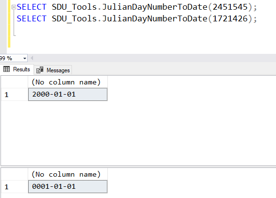 SDU Tools: Julian Day Number to Date in T-SQL (and reverse)