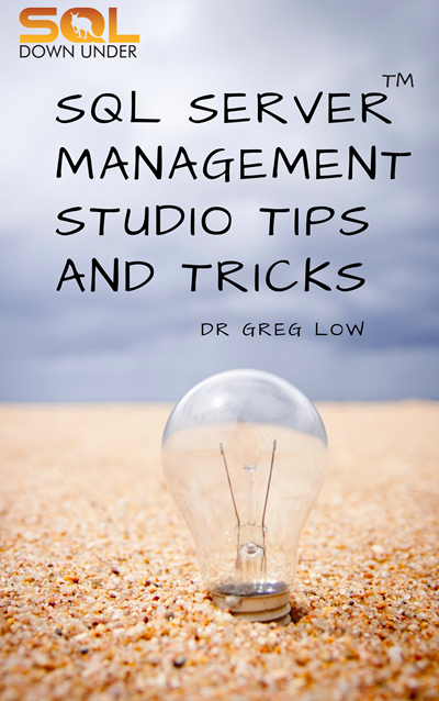 Free eBook: SQL Server Management Studio Tips and Tricks