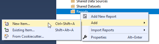 SQL: Where did my Reporting Services templates disappear to