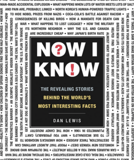 Book Review: Now I Know – Dan Lewis