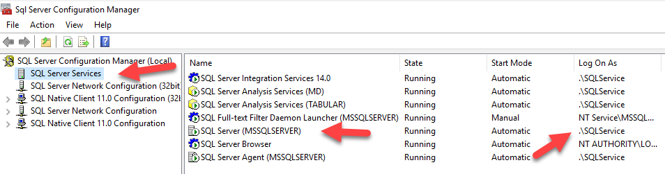 SQL: Why can't I see my files in SSMS when I want to restore?