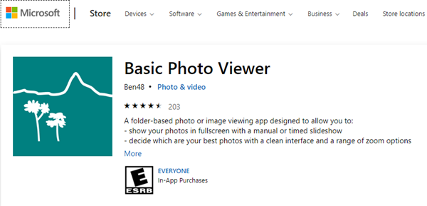 Basic Photo Viewer in Windows 10 – Where have you been?