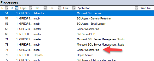SQL: Developers – Please add an Application Name to your SQL Server connection strings !
