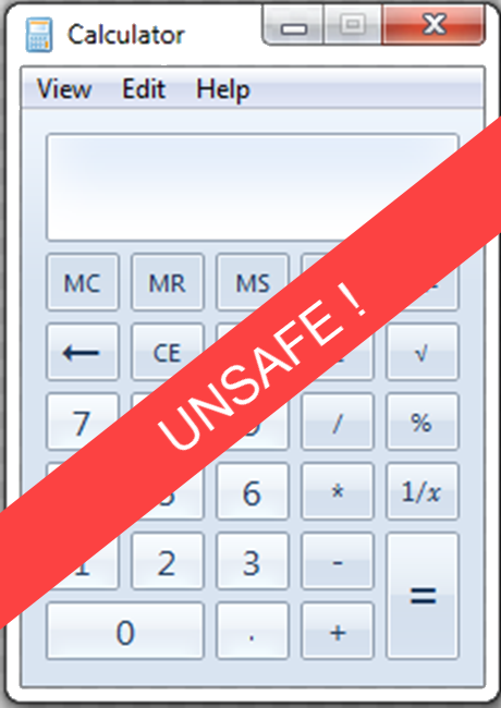 Opinion: Security is hard – the Sad Tale of the Windows Calculator