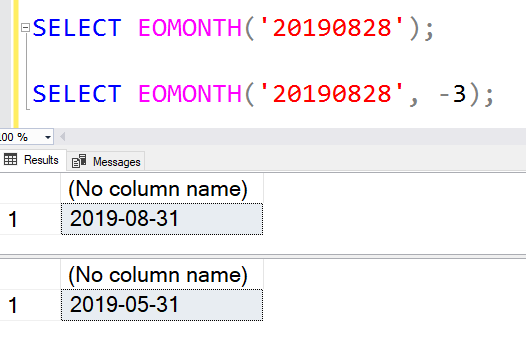 SQL: Think that T-SQL EOMONTH() just returns the end of month? Think again…