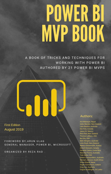 Book Review: Power BI MVP Book