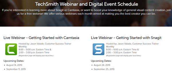Ever wondered about Camtasia and/or Snagit?