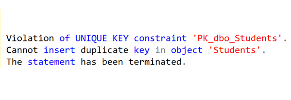 SQL: Violation of SQL Server UNIQUE KEY constraint but entry doesn't already exist