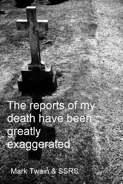 Opinion: SQL Server Reporting Services – The reports of my death…
