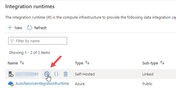 Integration Runtime Monitor