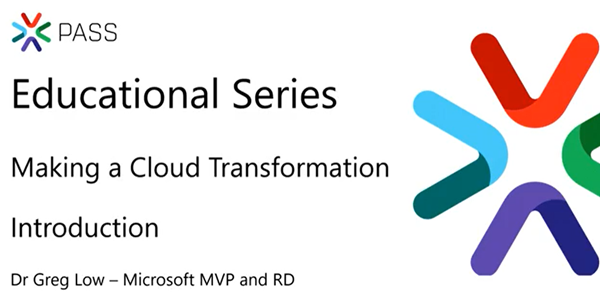 Making a cloud transformation, not just a migration – free course