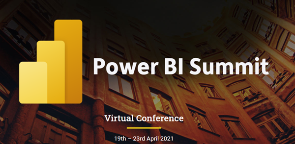 Power BI:  Join me at the Power BI Summit !